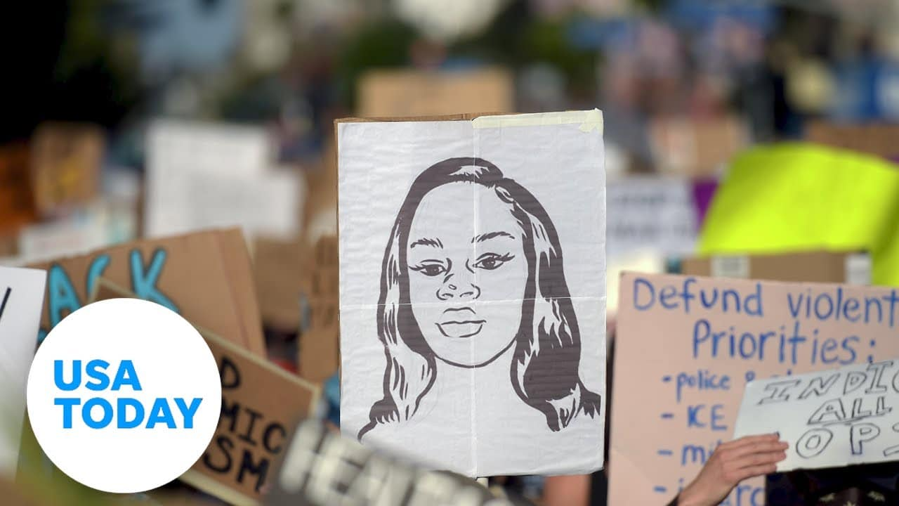 Remembering Breonna Taylor, one year later | USA TODAY 1