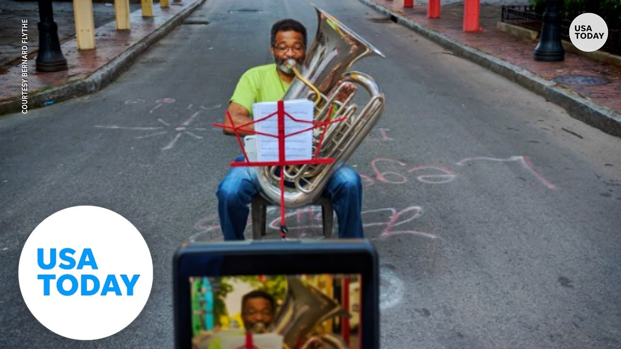How pro tuba player adapted during a year of COVID-19, when live music went silent   USA TODAY 1