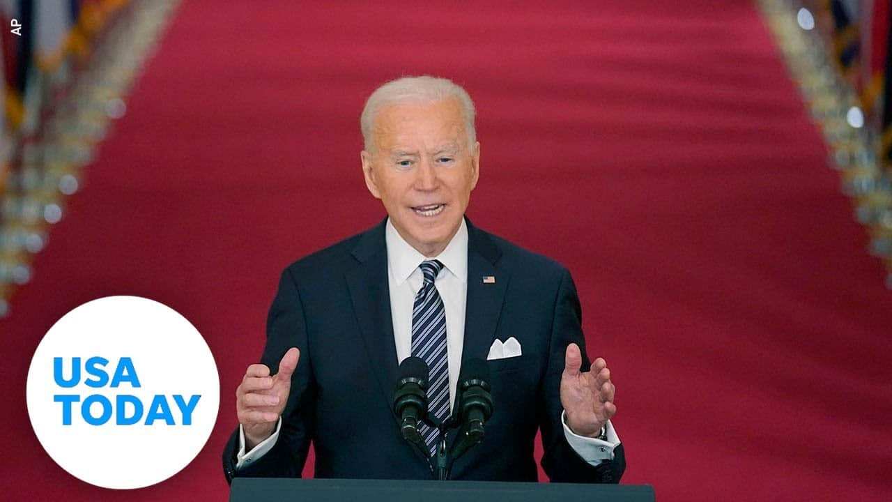 Pres. Biden delivers remarks on his American Rescue Plan | USA TODAY 8