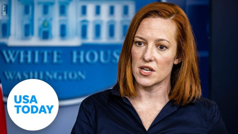 White House Press Secretary Jen Psaki holds daily briefing | USA TODAY 1
