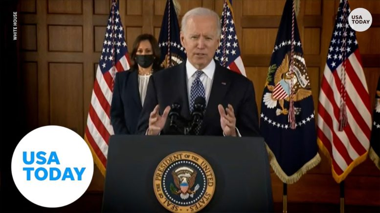 President Biden on Asian American hate crimes: 'Hate can have no safe harbor in America' 1
