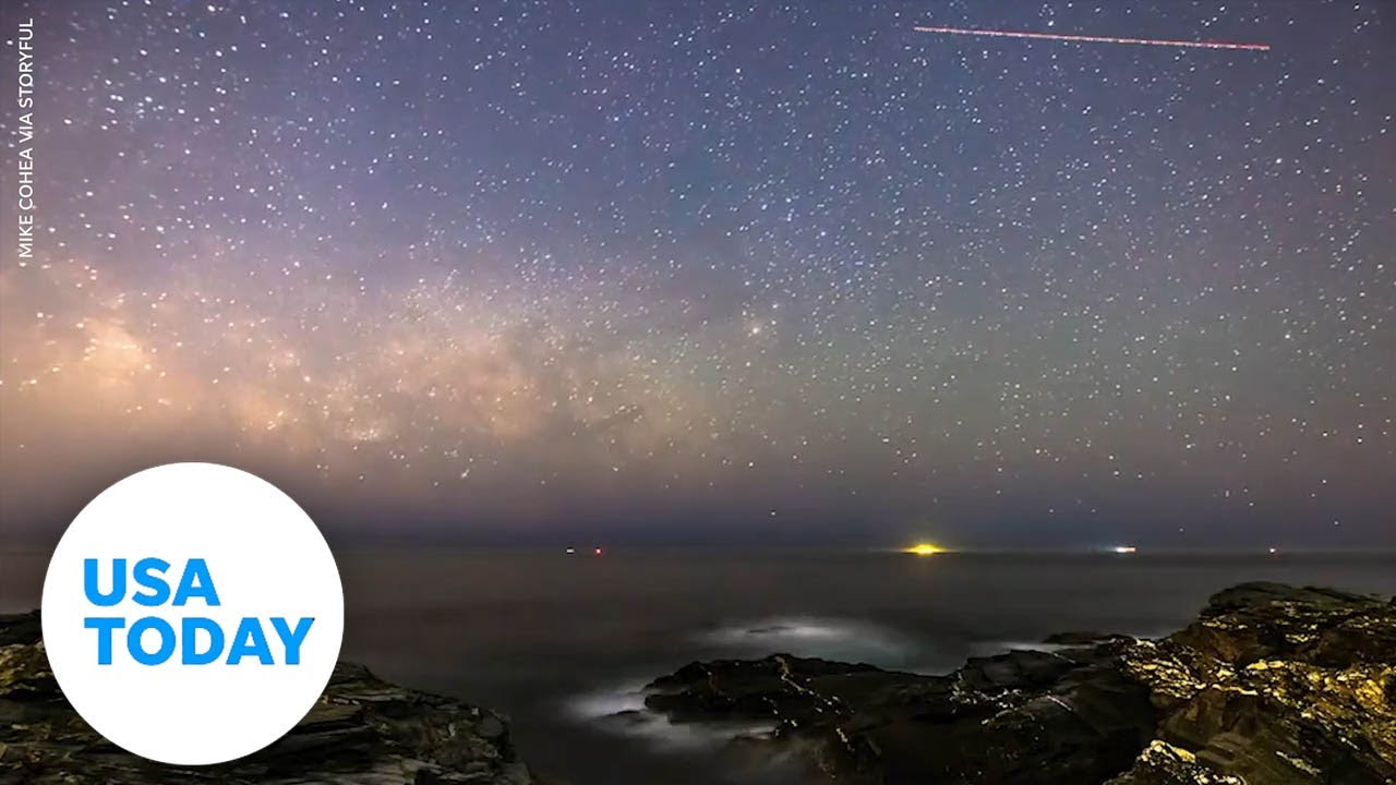Watch the Milky Way rise over the Atlantic Ocean | USA TODAY 1