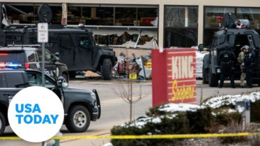 Boulder police hold news conference after supermarket shooting | USA TODAY 6