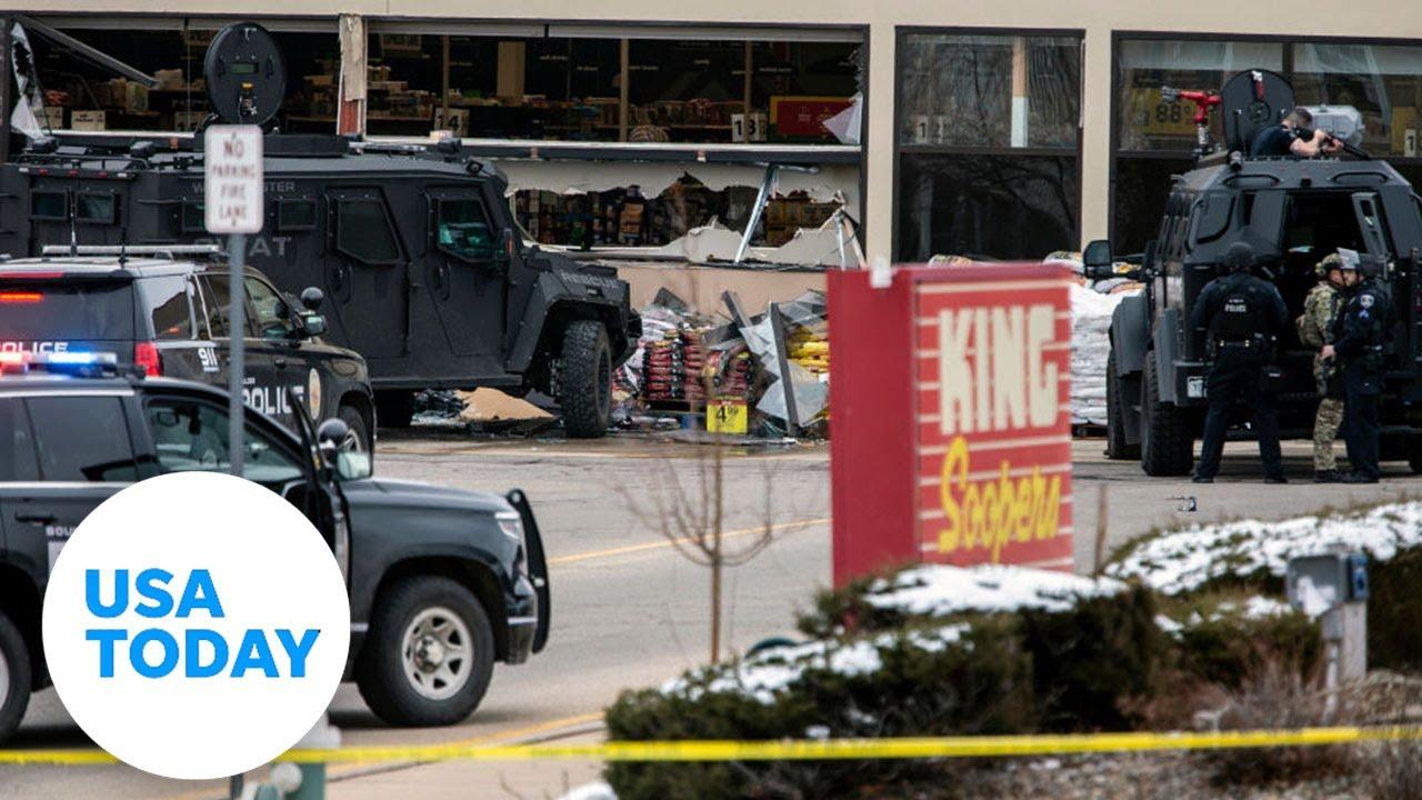 Boulder police hold news conference after supermarket shooting | USA TODAY 1