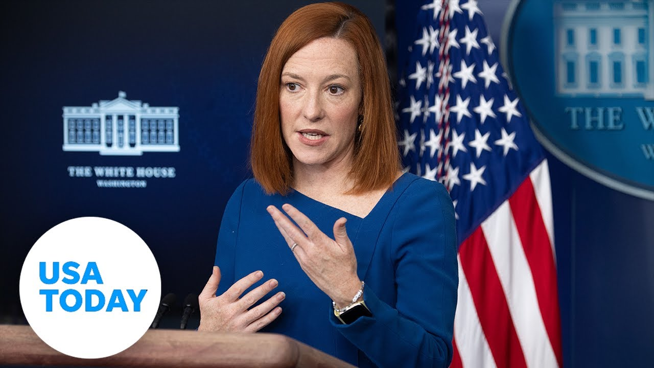 Jen Psaki, press secretary, holds White House press briefing. | USA TODAY 5