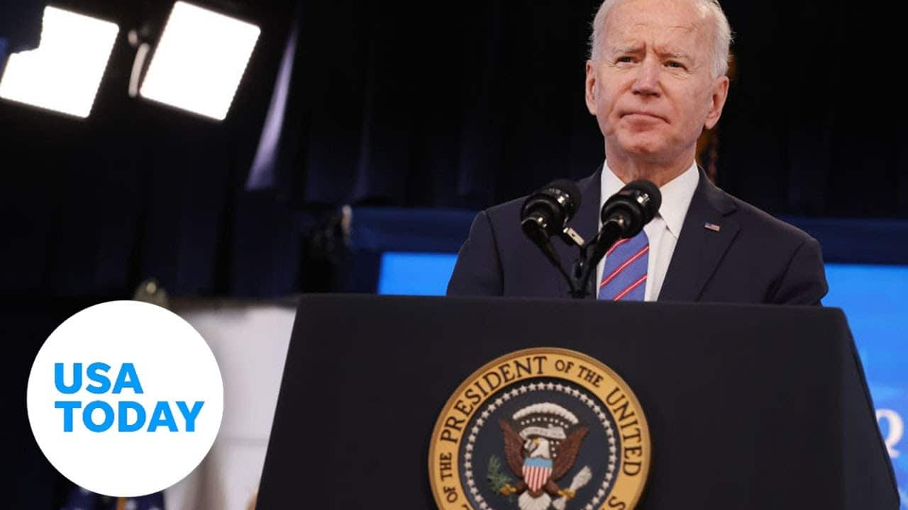 President Biden holds first solo press conference | USA TODAY 1