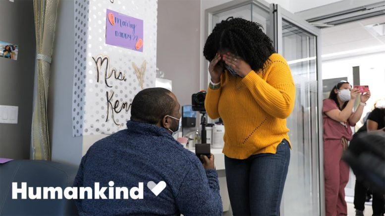 NICU nurses help dad pop the question | Humankind 1