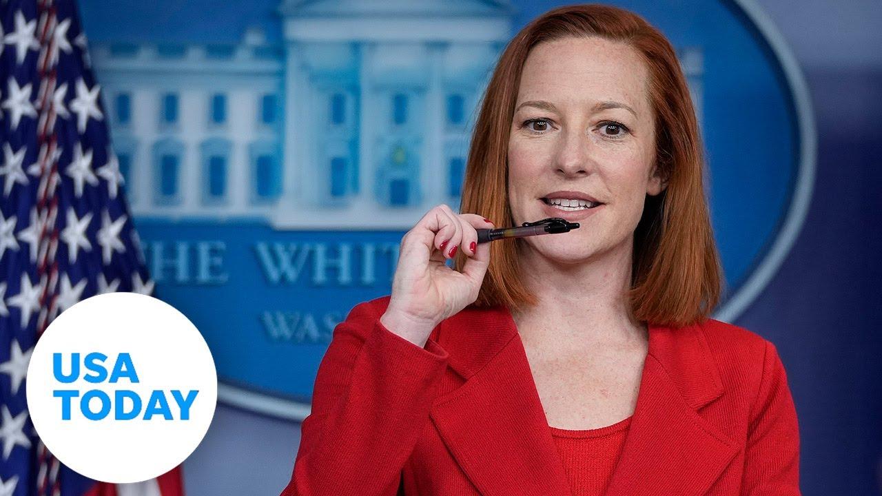 White House press briefing with Press Secretary Jen Psaki | USA TODAY 4