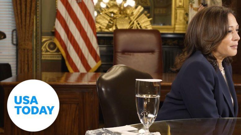 VP Kamala Harris on COVID's impact on Women of Color   USA TODAY 1