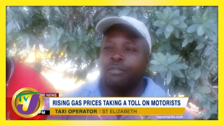 Rising Gas Prices Taking a Toll on Jamaica's Motorists | TVJ News - March 4 2021 1
