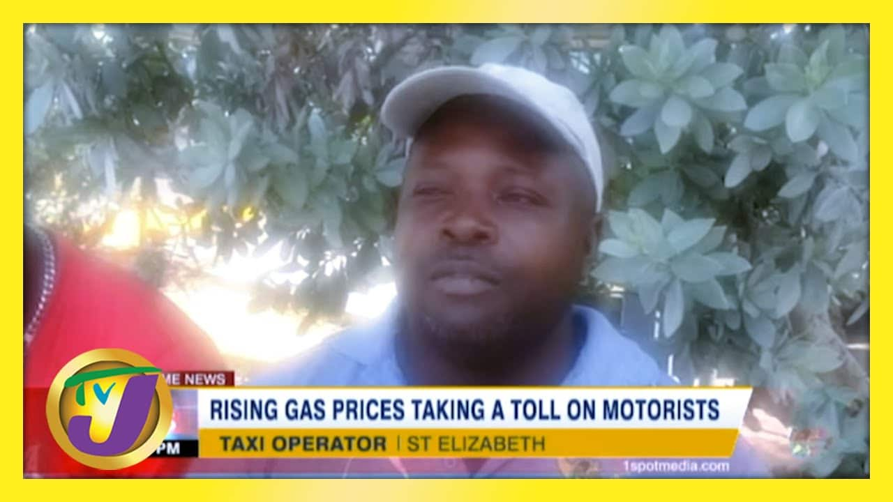 Rising Gas Prices Taking a Toll on Jamaica's Motorists   TVJ News - March 4 2021 1