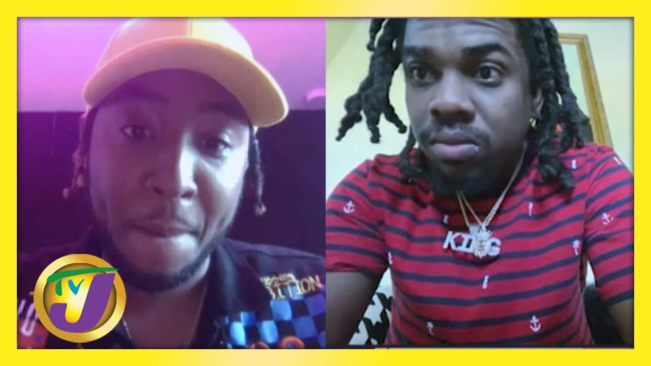 Vershon & Jahmiel End Their Musical Feud: TVJ Smile Jamaica - March 5 2021 1