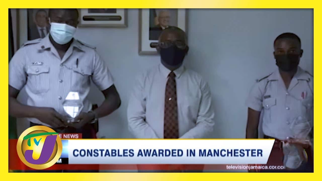 Constables Awarded Medal for Delivering Baby   TVJ News - March 5 2021 1