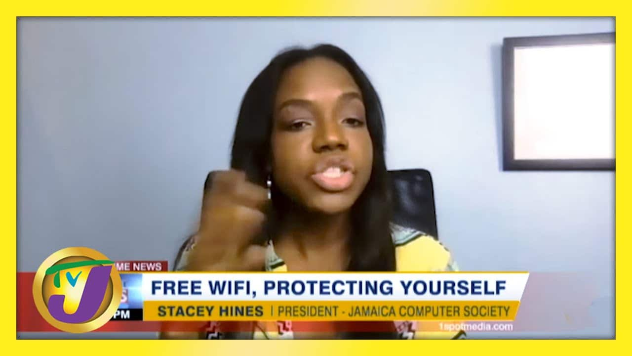 Free Wifi. Tips to Protect Yourself | TVJ News - March 6 2021 1