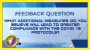 Feedback Question | TVJ News - March 8 2021 3