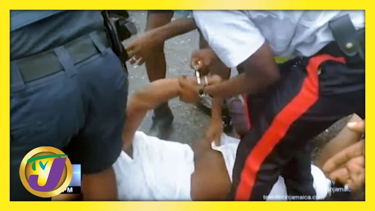 Jamaica's Alarming Covid Cases   Man in Viral Video Arrested TVJ News - March 8 2021 1