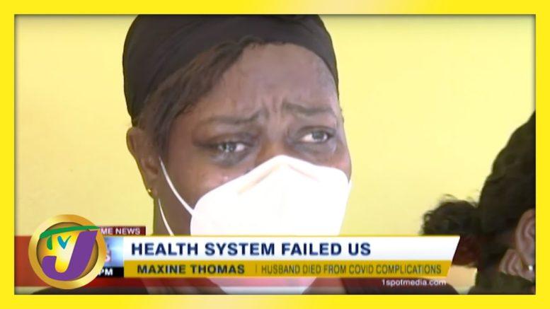 Jamaica's Health System Failed Us | TVJ News - March 9 2021 1