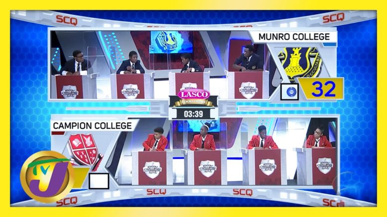 Munro College vs Campion College | TVJ SCQ 2021 - March 9 2021 1