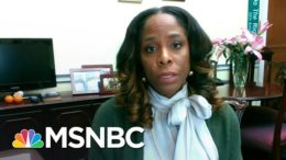 Del. Stacey Plaskett On FBI Director Wray's Senate Hearing Today | Stephanie Ruhle | MSNBC 1