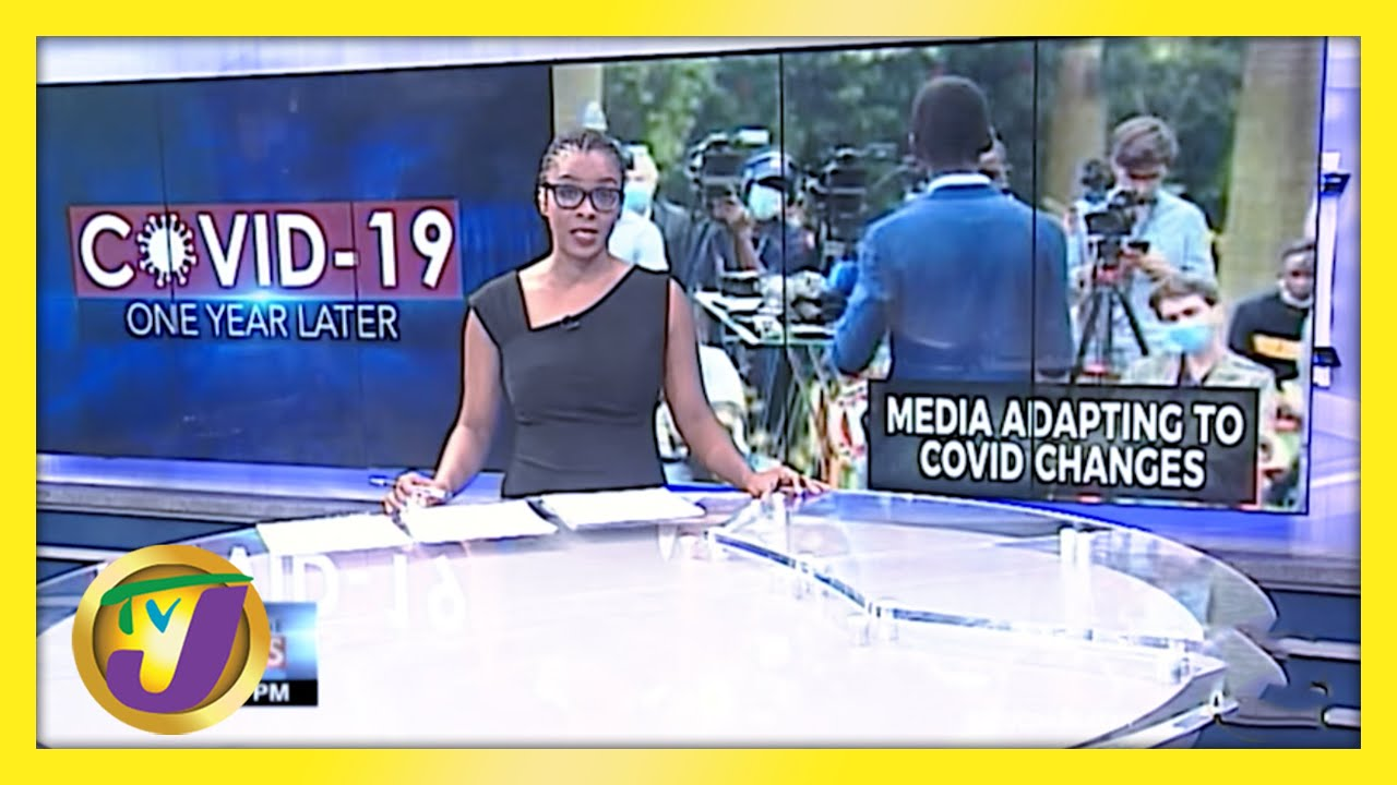 Covid-19 Impact on Jamaica's Journalists   TVJ News - March 10 2021 1