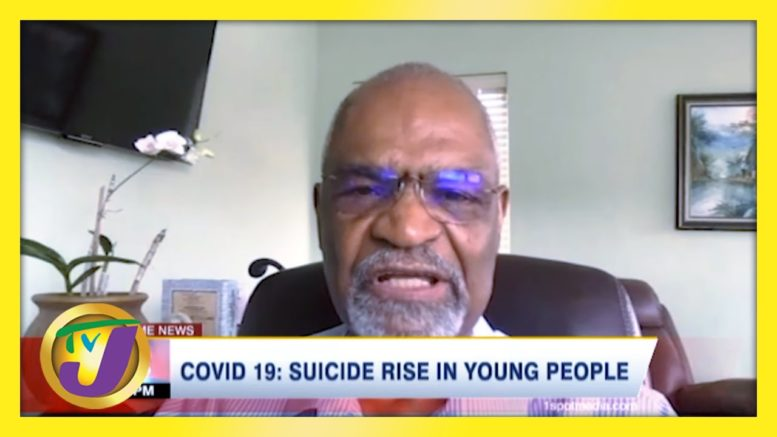 Covid-19: Suicide Rise in Young People | TVJ Health Report - March 10 2021 1