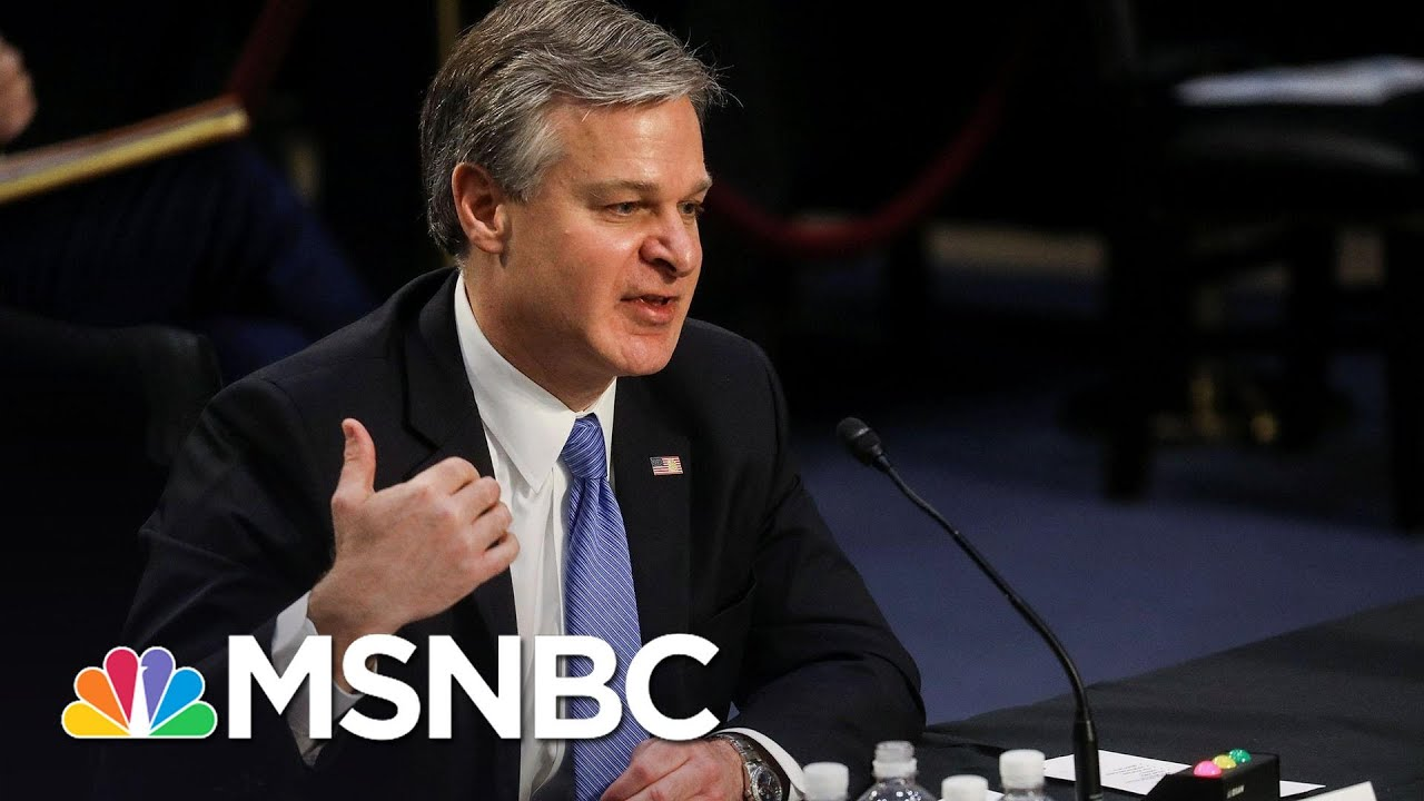 FBI Director Wray: 'We Have Not To Date Seen Any Evidence' Of Antifa Connection To Capitol Riot 1