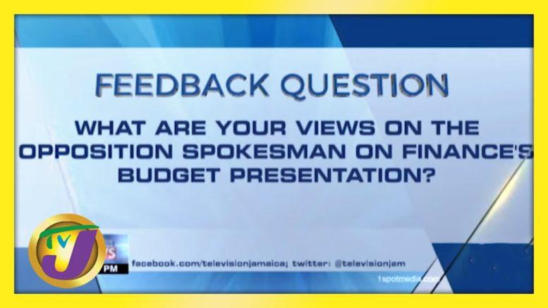 Feedback Question | TVJ News - March 11 2021 1