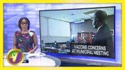 Clarendon Councillors have Vaccine Concerns   TVJ News - March 11 2021 5