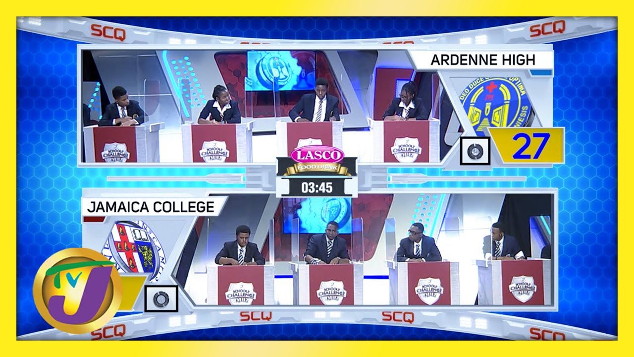 Ardenne High vs Jamaica College: TVJ SCQ 2021 - March 11 2021 1