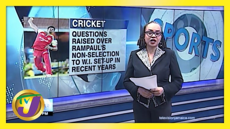 Questions Raised over Rampaul's Non-Selection for Windies Team - March 11 2021 1