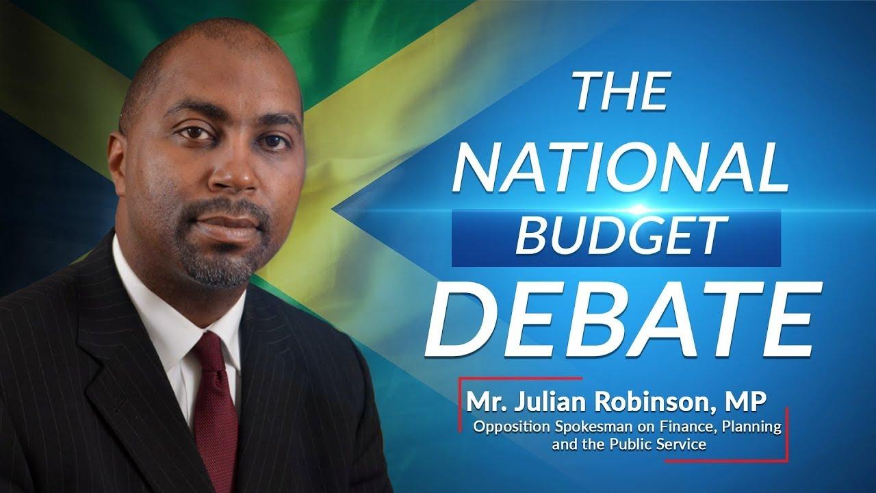 Jamaica's National Budget Debate 2021/2022 (Rebroadcast) – Opposition Spokesperson on Finance 1