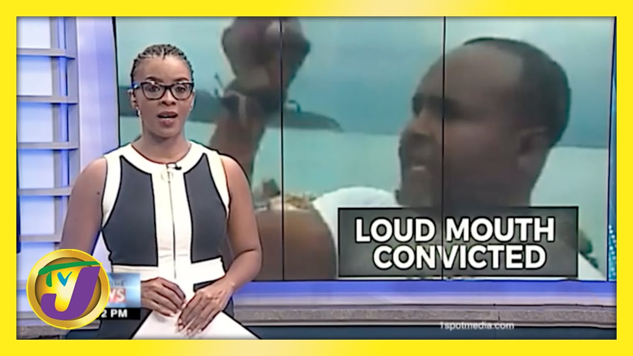Loud Mouth Convicted | TVJ News - March 12 2021 1