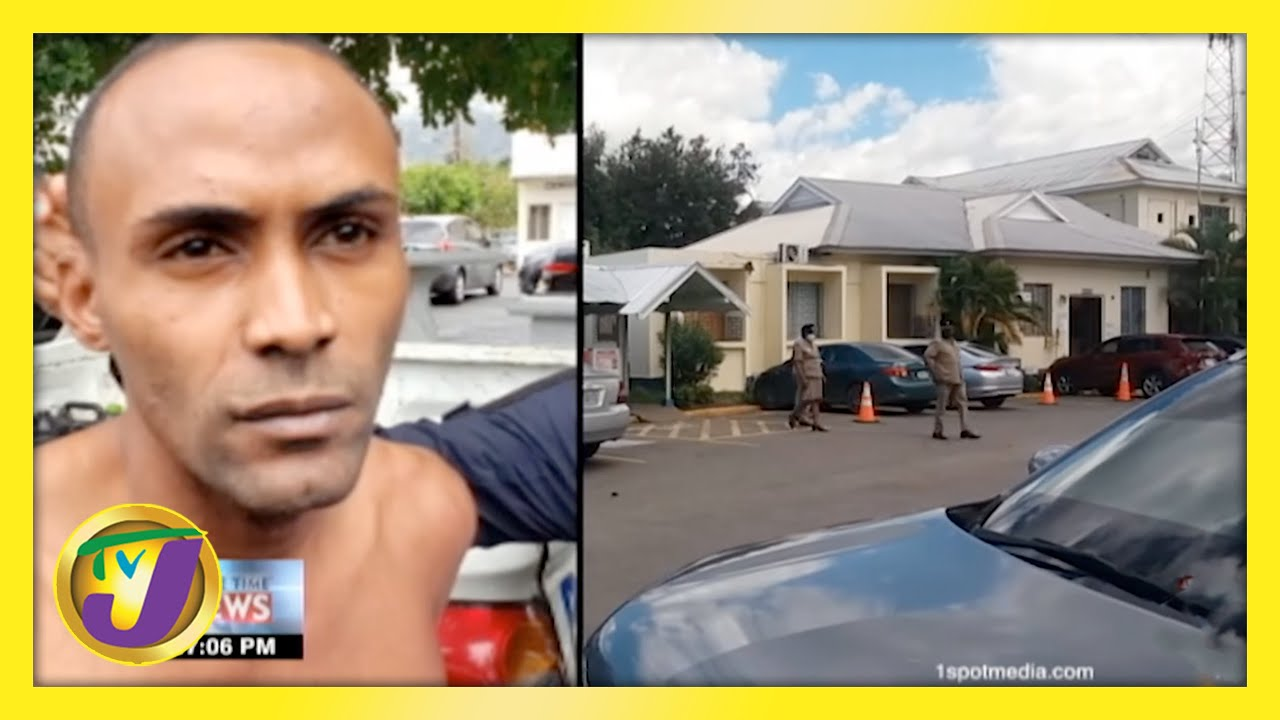Manhunt for Inmate who Shot Policeman   TVJ News - March 12 2021 1