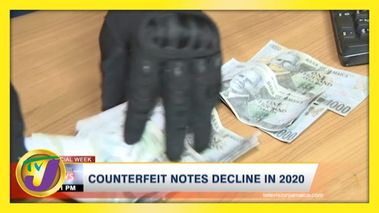 Counterfeit Notes Decline in 2020: TVJ Business Day - March 12 2021 1