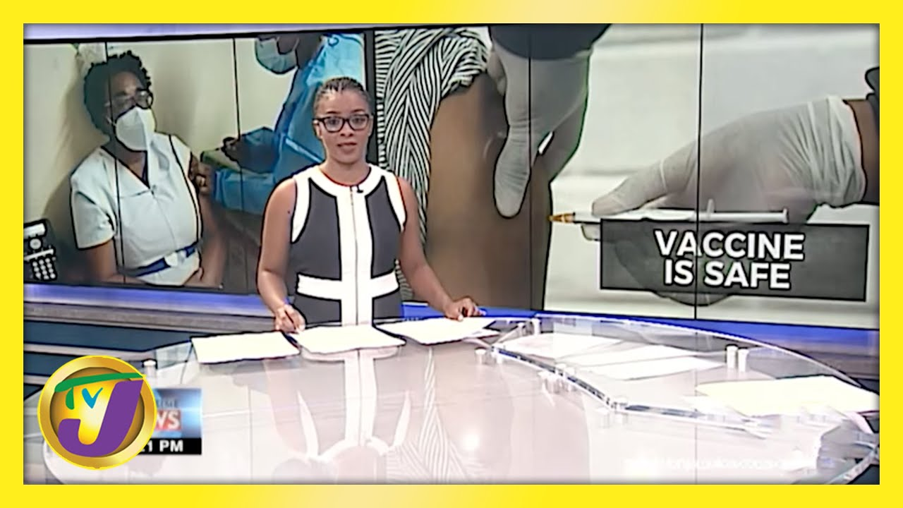 Health Minister Assures Nation of Vaccine Safety | TVJ News - March 12 2021 1