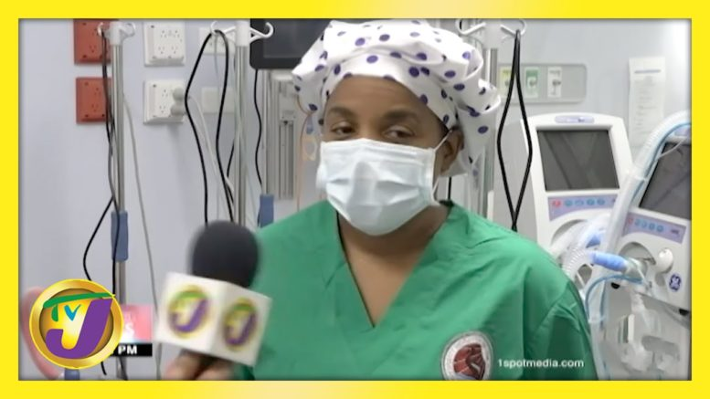 Cuban Nurse Caring for Covid-19 Patients in Jamaica | TVJ News - March 13 2021 1
