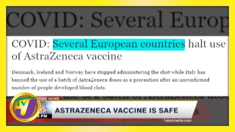 Astrazeneca Vaccine is Safe   TVJ New - March 14 2021 1