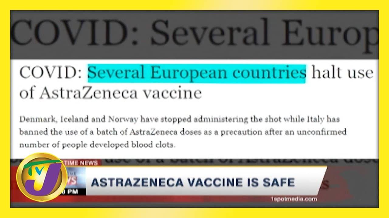 Astrazeneca Vaccine is Safe | TVJ New - March 14 2021 1