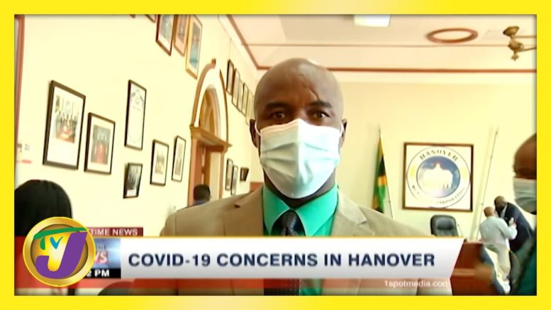 Covid-19 Concerns in Hanover Jamaica | TVJ News - March 14 2021 1