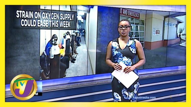 Medical Oxygen Shortage in Jamaica Could Ease this Week - March 15 2021 1