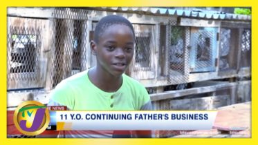 11 yr old Continues Father's Business | TVJ Ray of Hope - March 15 2021 6