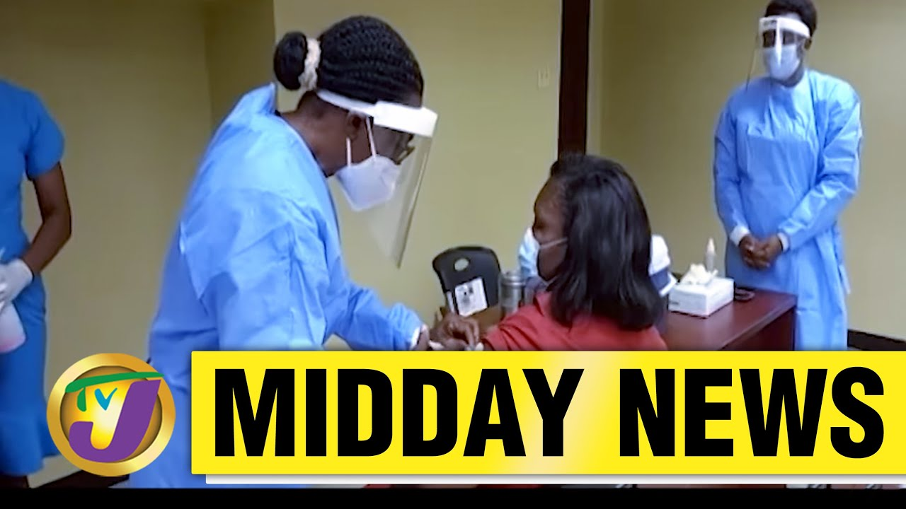 110 Jamaican Police Officers Vaccinated - March 16 2021 6
