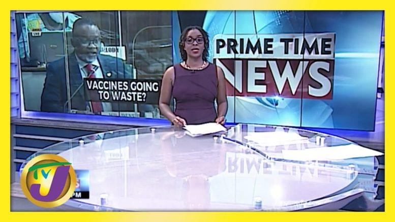 Vaccines Being Wasted in Jamaica? TVJ News - March 16 2021 1