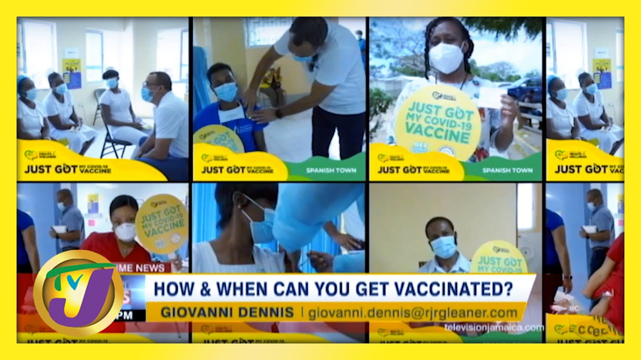 How & When Can You Get Vaccinated? TVJ News - March 16 2021 1