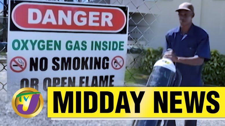 Demand for Medical Oxygen Sky Rocket in Jamaica | TVJ News - March 17 2021 1