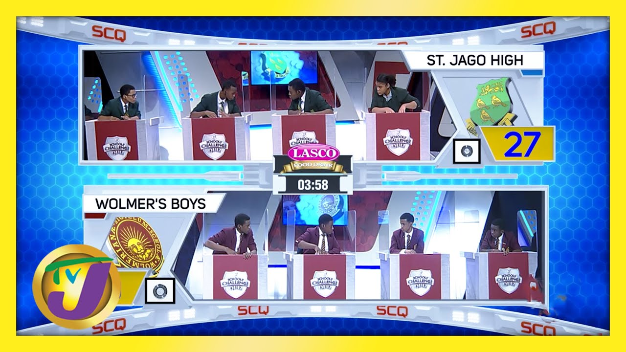 St. Jago High vs Wolmer's Boys: TVJ SCQ 2021 - March 17 2021 1