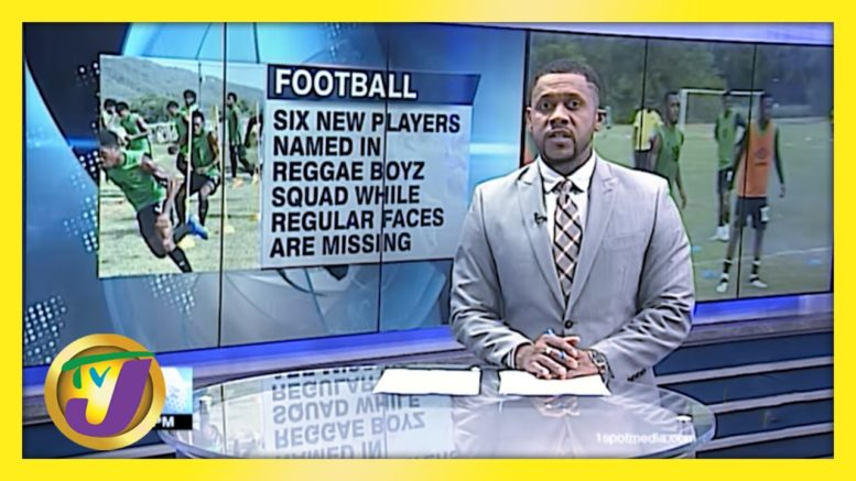 6 New Players named in Reggae Boyz Squad - March 17 2021 1