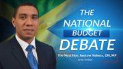 Jamaica's National Budget Debate 2021/2022 – Prime Minister - Andrew Holness 2