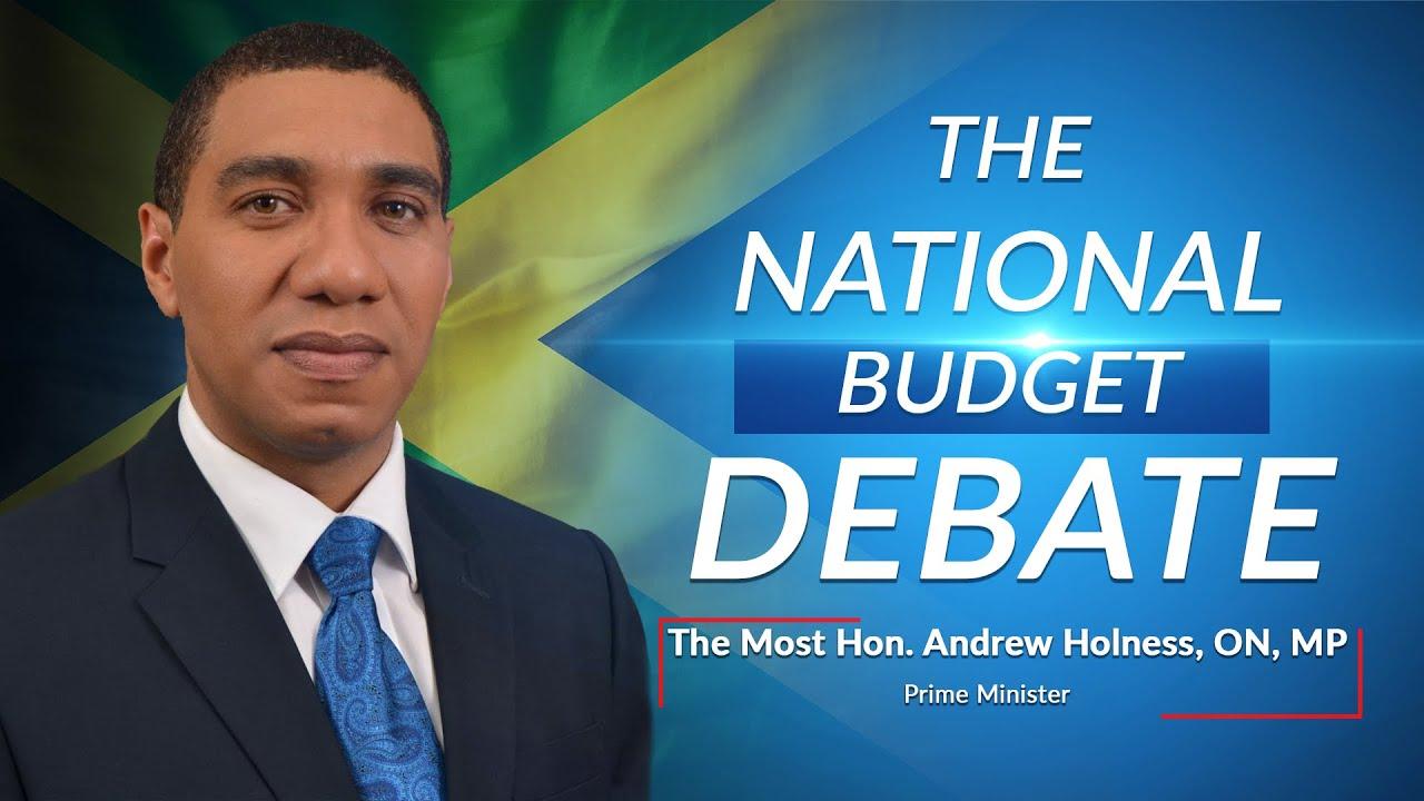 Jamaica's National Budget Debate 2021/2022 – Prime Minister - Andrew Holness 1