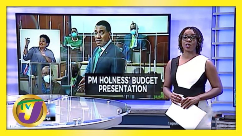 Jamaica's PM Andrew Holness 2020|2021 Budget Presentation | TVJ News - March 18 2021 1